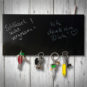 Tafel Schlüsselbrett / Magnetbrett