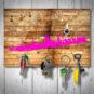 Magnetbrett – Köln geholzig pink