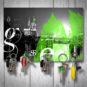 Magnetbrett – Domizil grün
